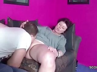 caught, german, masturbation, mom, seduction