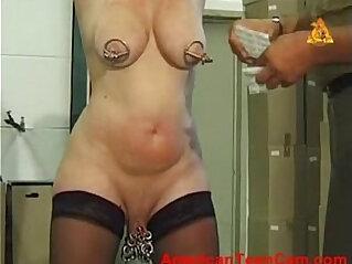 mature, piercing, slave, slut