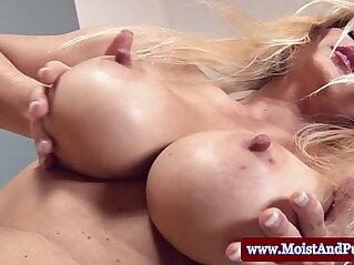 blonde, juicy, masturbation, pussy, sex toy, webcam
