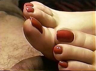 foot fetish, footjob