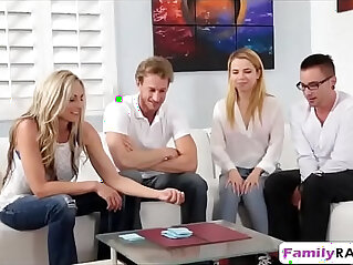 4some, family orgy, stripping, striptease