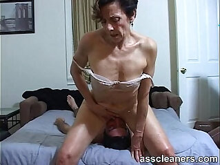 ass, ass hole, face sitting, fetish, horny, MILF, pussy lick, slave