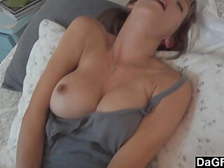 asian cock, bedroom, busty, hitchhiker, horny, husband, sucking, wife