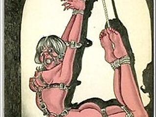 bondage, cartoons, master