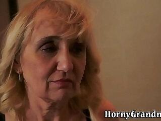 ass, cum, granny, mature