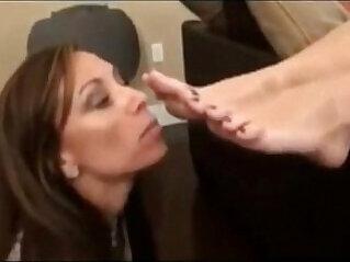 fetish, foot fetish, mom, worship