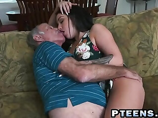 asian cock, brunette, chinese tits, dick, grandpa, horny, old, slut