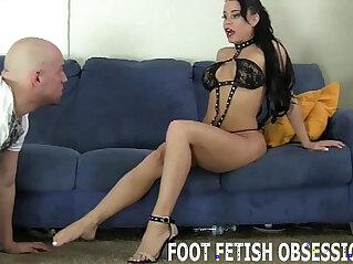 feet, slave, worship