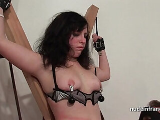 bdsm, brunette, european, fisting, french, games, rope, young