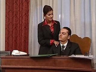 banged, italian, office