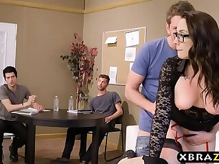 banged, DP, old and young, stud, students