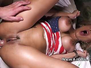 banged - Perfect babe gets her anal bang for the first time
