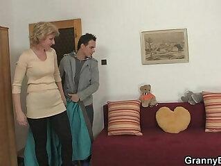 blonde, mother, old