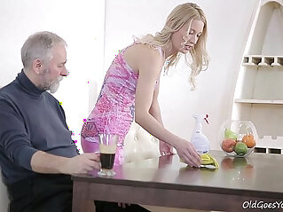 lesbian, nipples, old, young, young and old