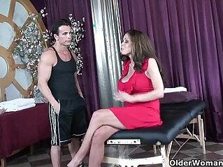 anal, ass, cum, massage, MILF, rough