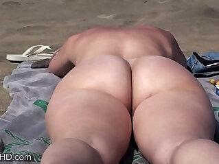 beach, nude, voyeur
