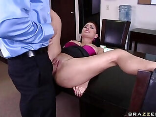 squirting - Eva Angelina is the hottest secretary