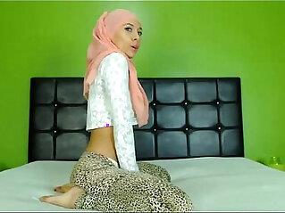 arabian, ass, hijab, webcam