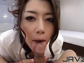 blowjob, cum, japanese, jav, POV, sexy japan